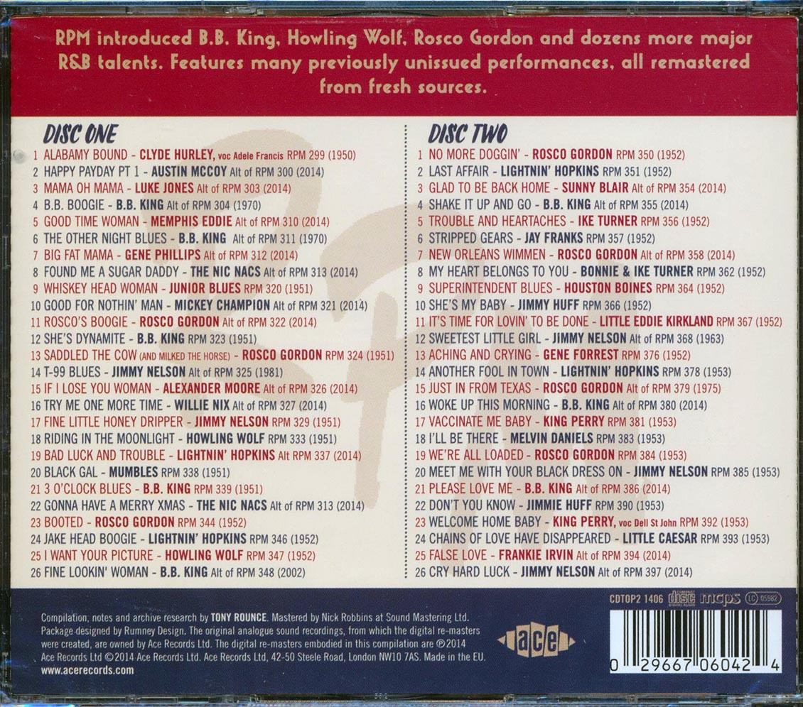 SEALED-NEW-CD-Various-No-More-Doggin-039-The-RPM-Records-Story-Volume-1-1950-195 thumbnail 2