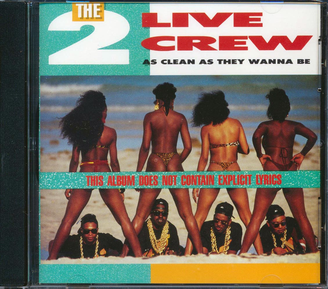 2 LIVE CREW - As Clean As They Wanna Be - CD