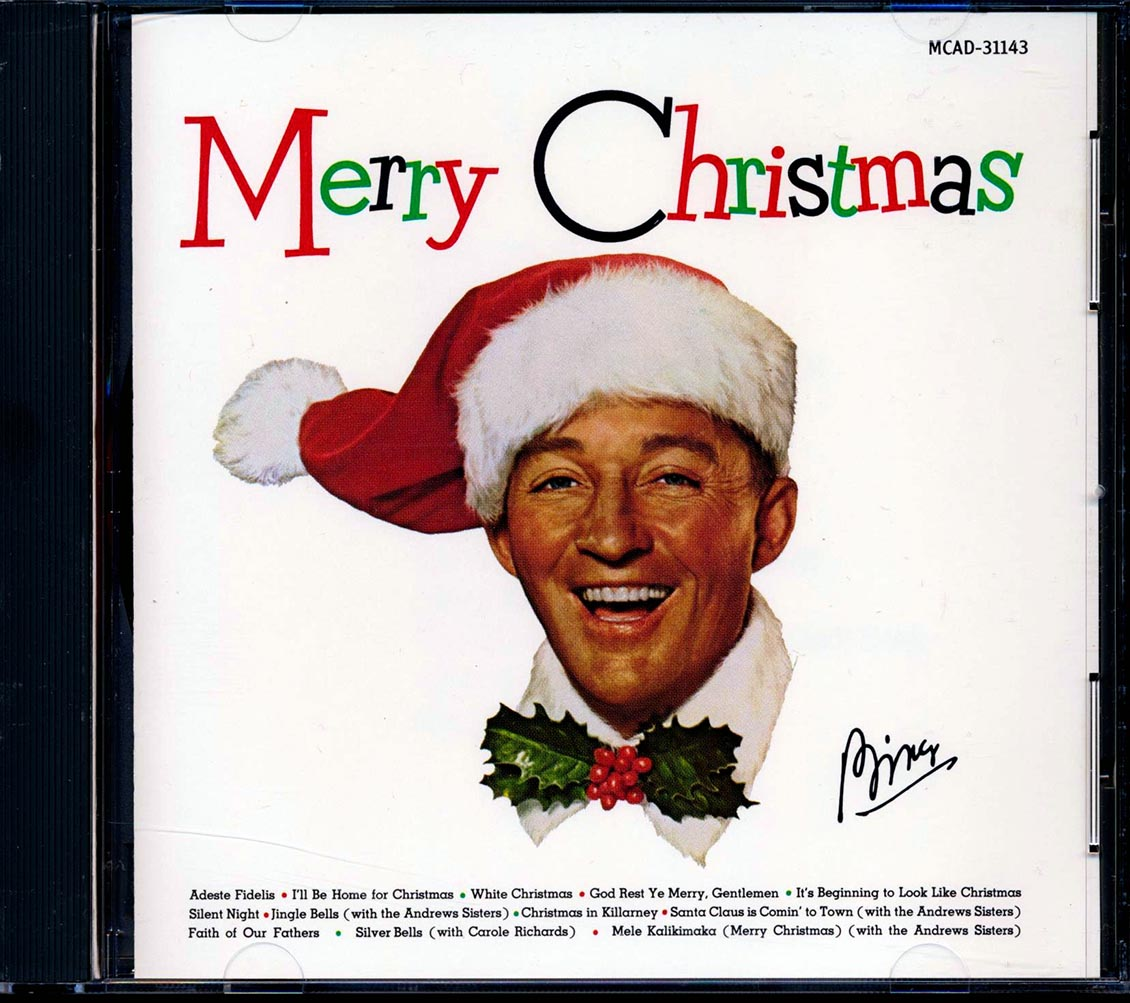 SEALED NEW CD Bing Crosby - Merry