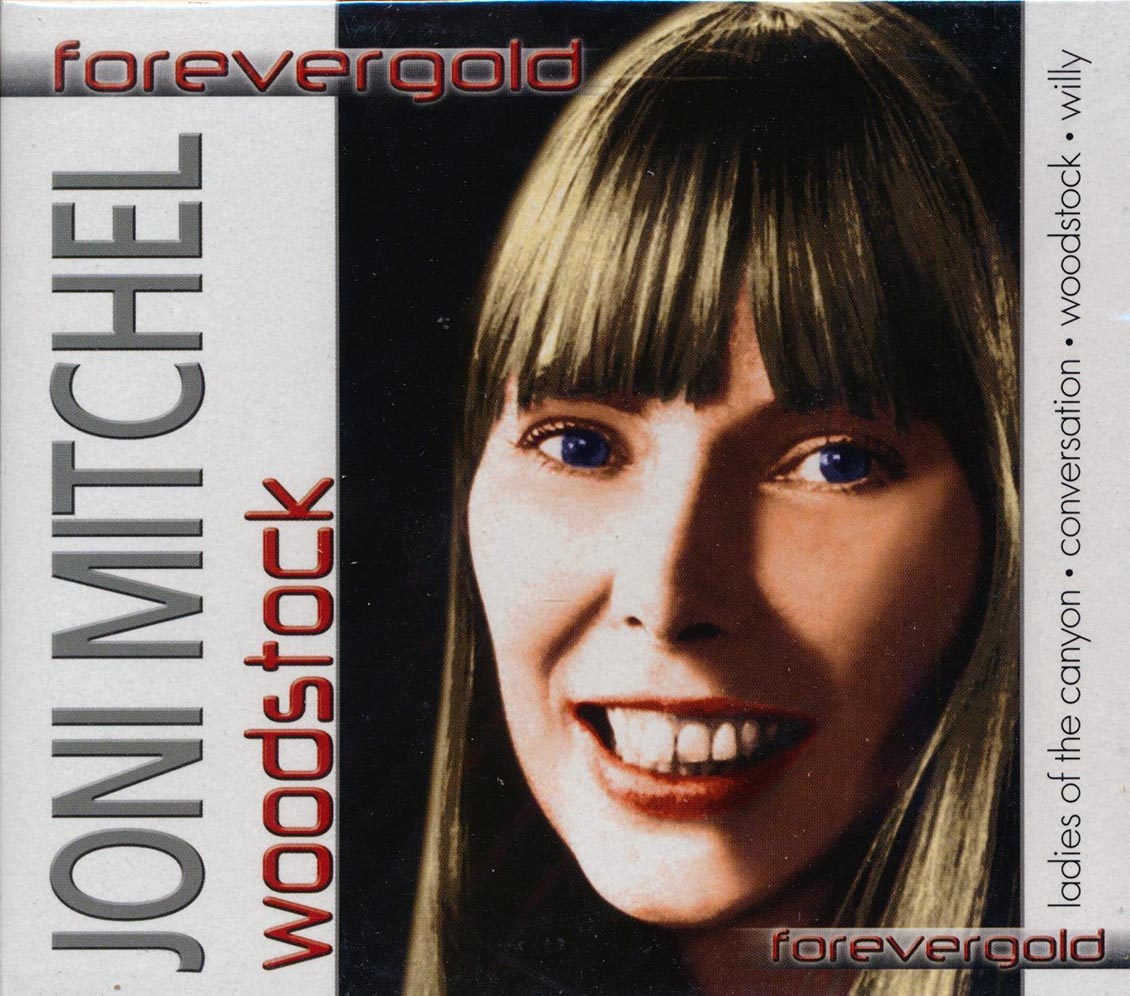 SEALED-NEW-CD-Joni-Mitchell-Woodstock-Forever-Gold