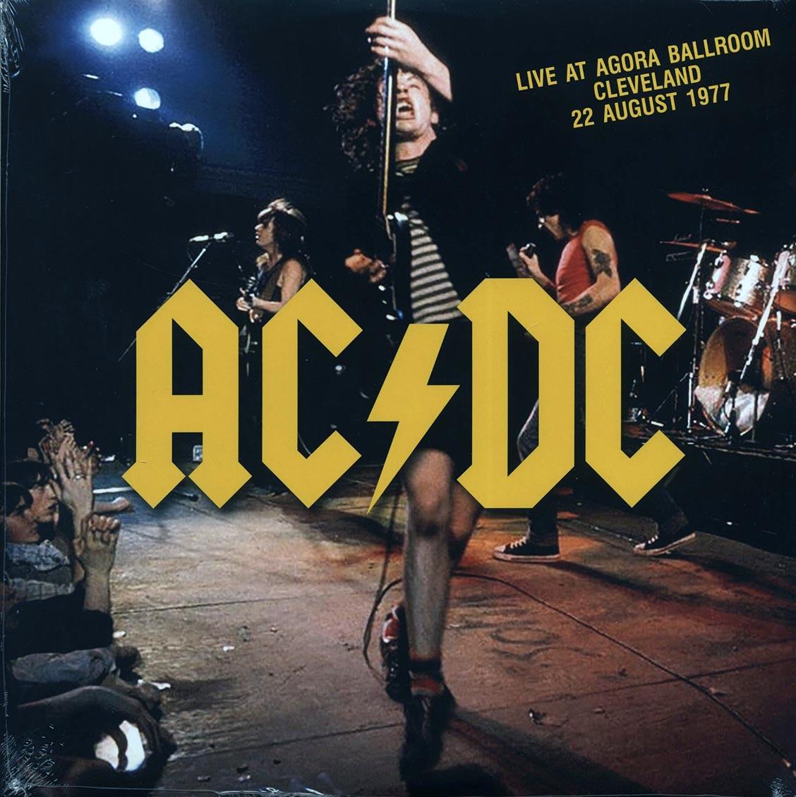 ac/dc live at agora ballroom cleveland 22 august 1977