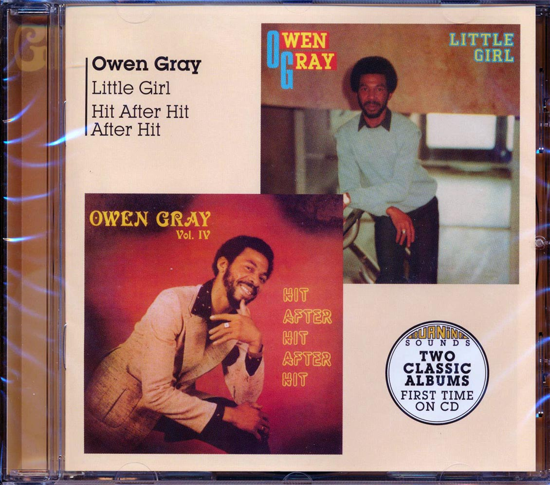 OWEN GRAY - Little Girl + Hit After Hit After Hit - CD
