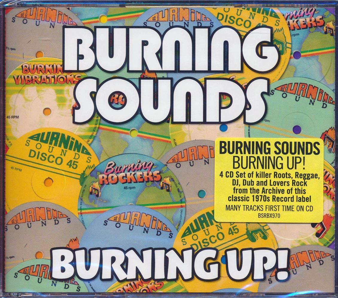 ALTON ELLIS, I ROY, PABLO GAD, THE REVOLUTIONARIES - Burning Sounds: Burning Up! - CD x 4