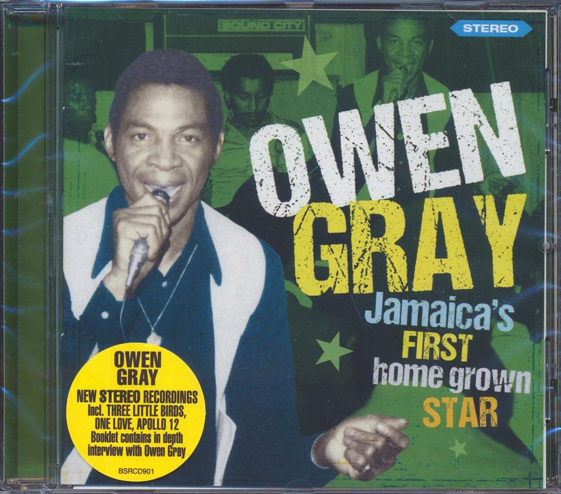 OWEN GRAY - Jamaica's First Home Grown Star - CD