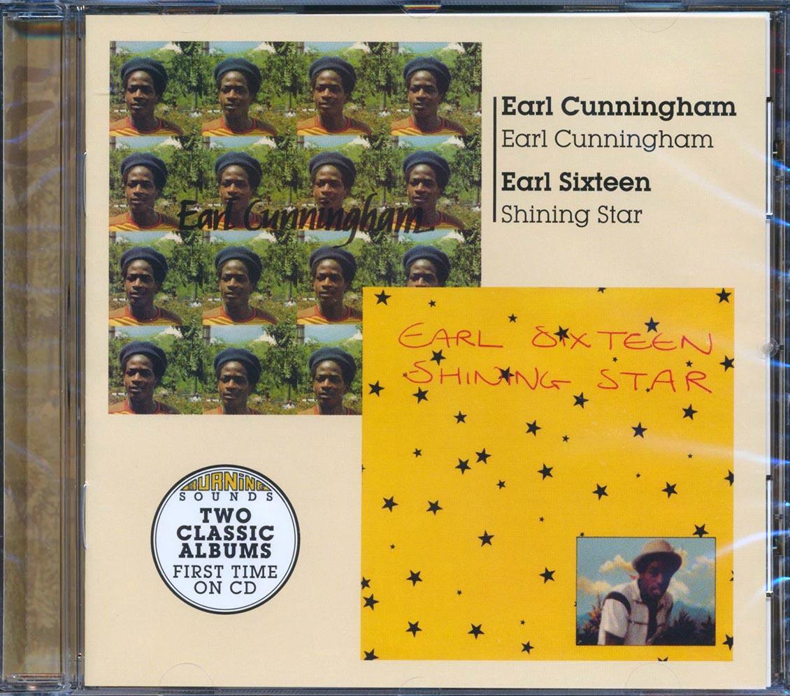 EARL CUNNINGHAM, EARL SIXTEEN - Earl Cunningham + Shining Star - CD