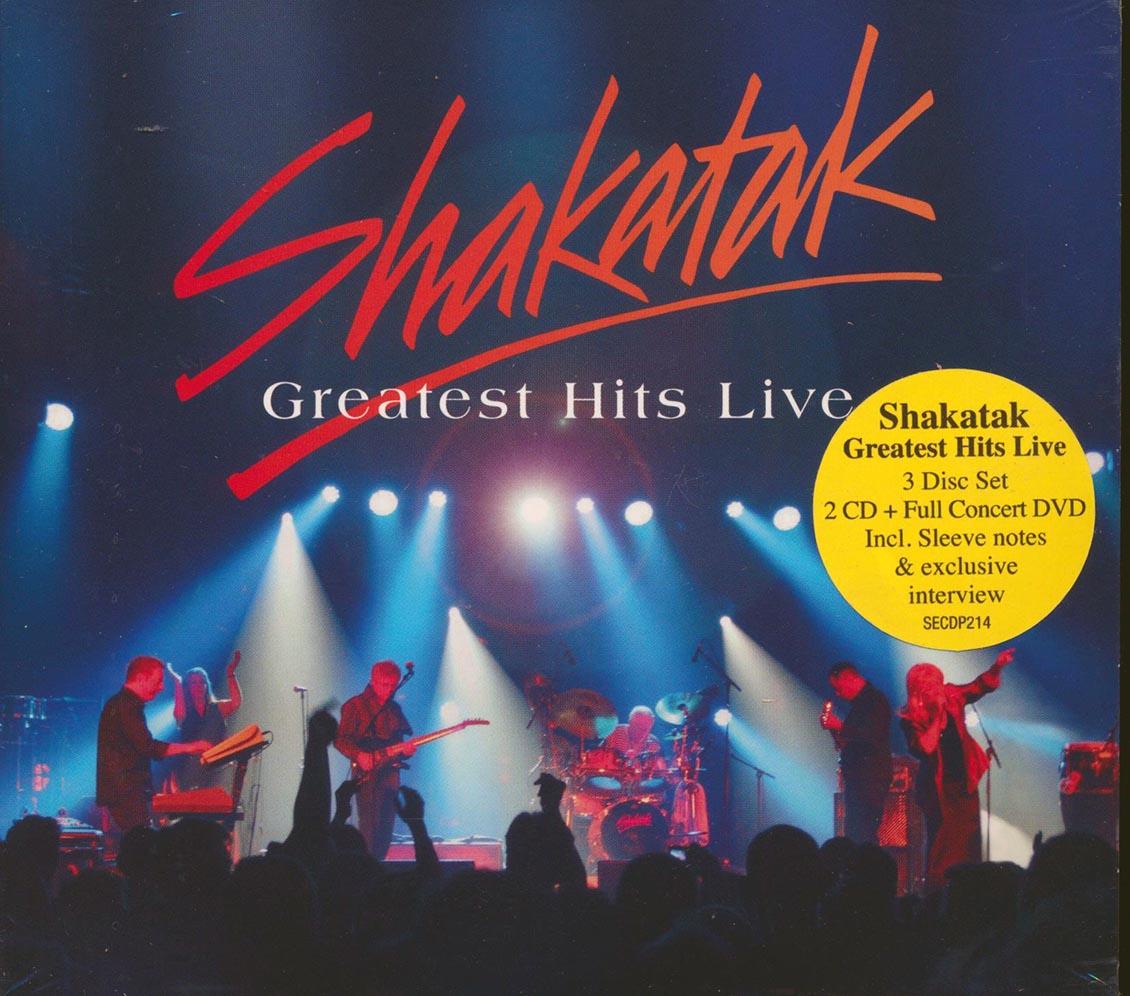 SHAKATAK - Greatest Hits Live - CD x 2