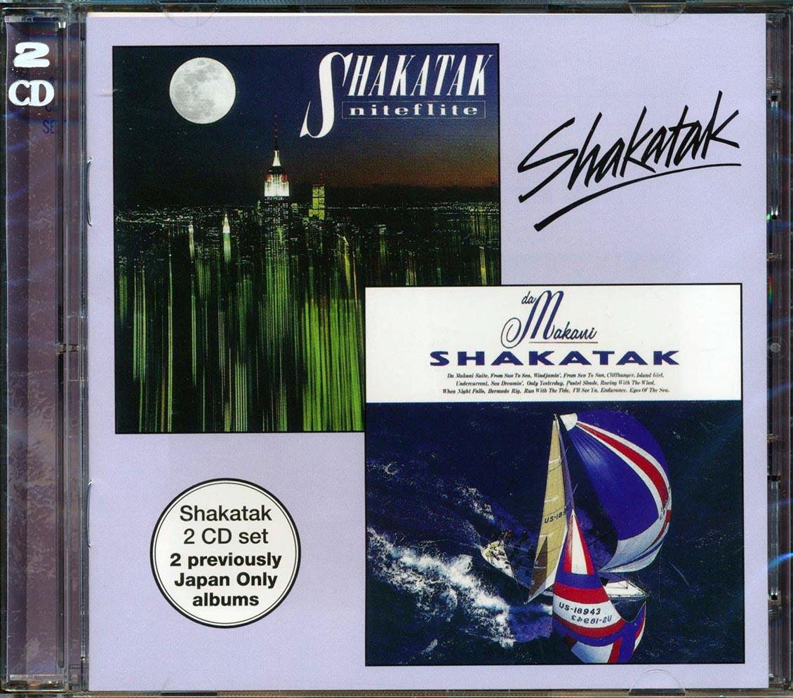 SHAKATAK - Da Makani + Niteflite - CD