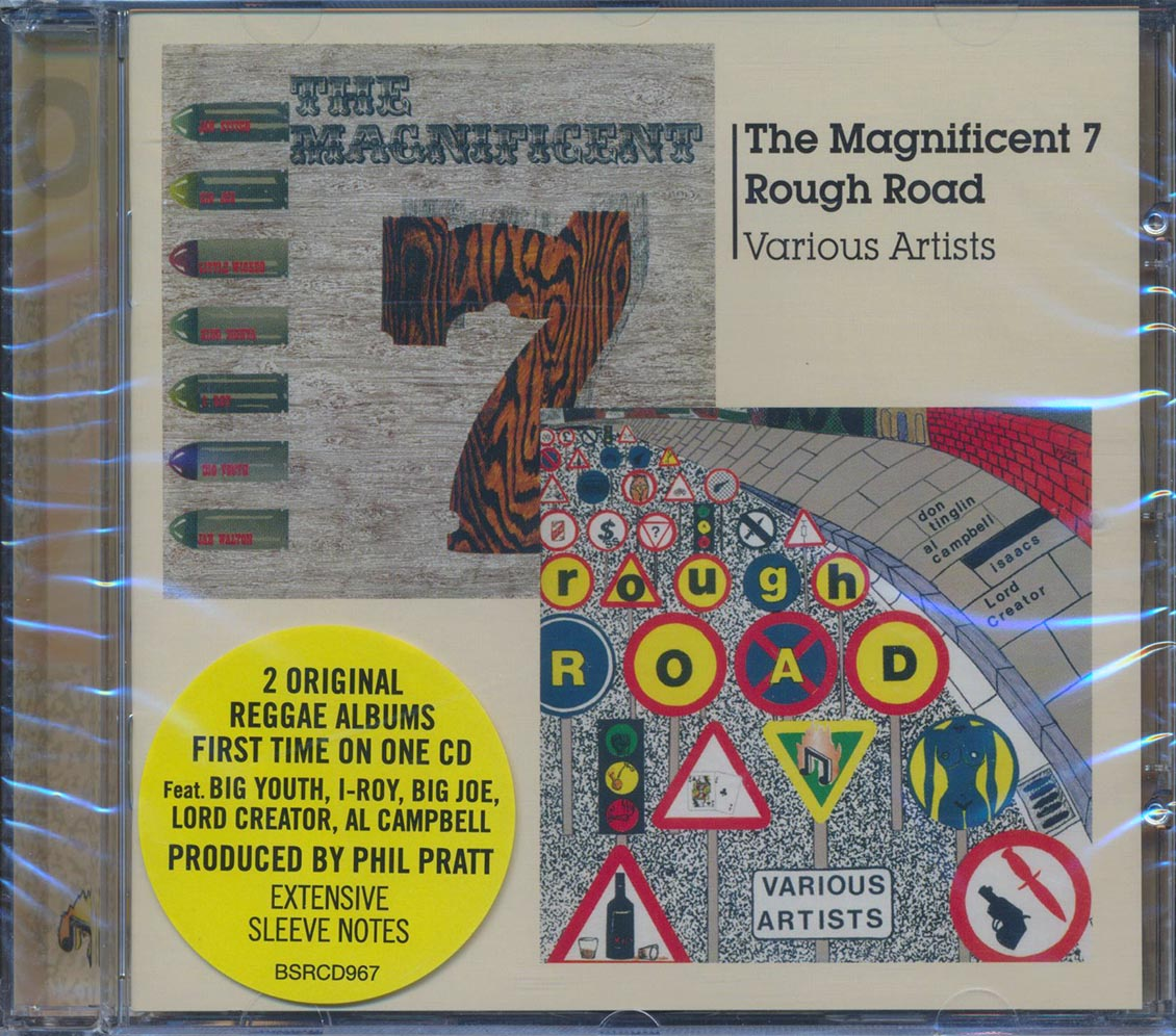 VARIOUS - The Magnificent 7 + Rough Road - CD