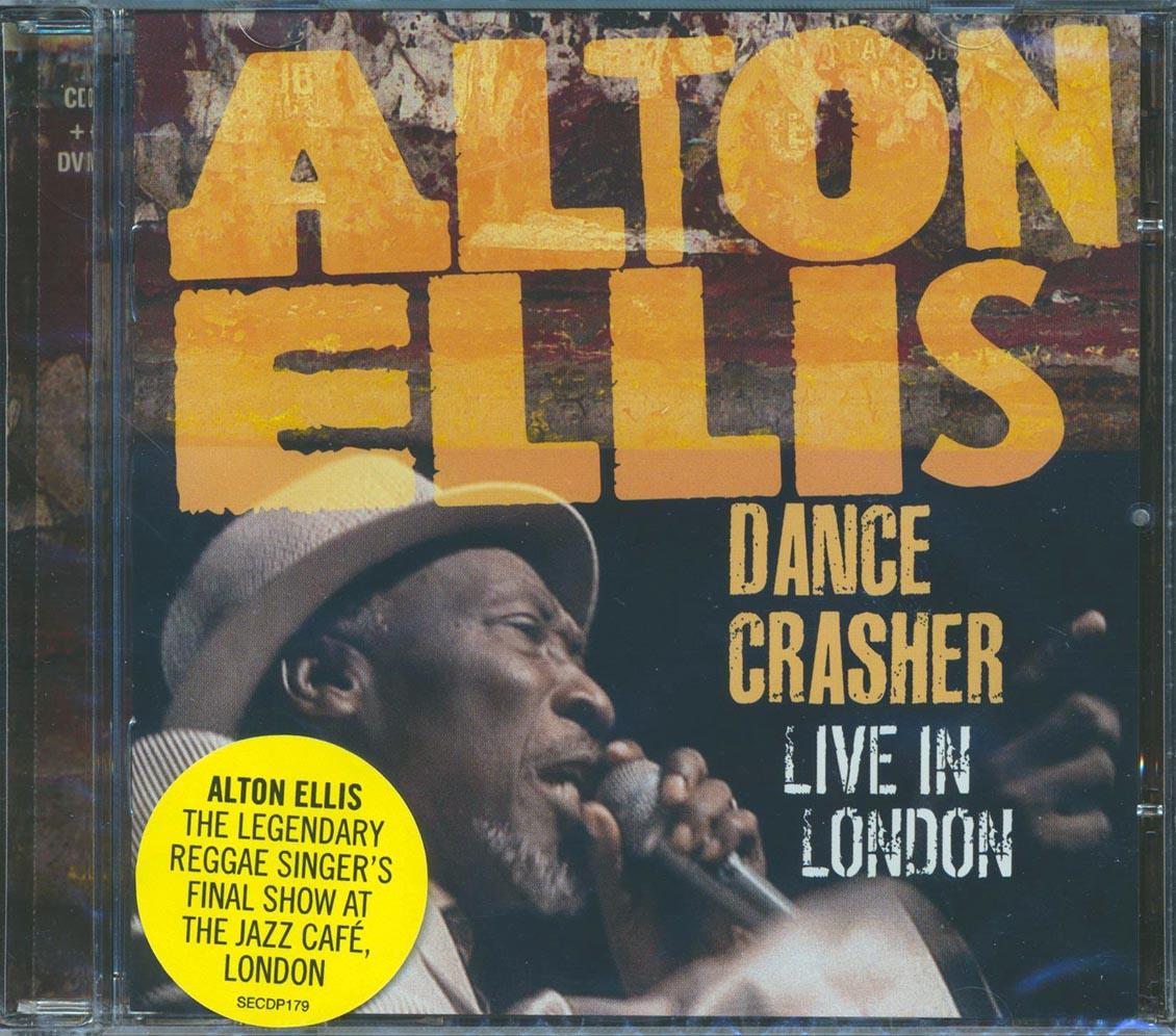 ALTON ELLIS - Dance Crasher: Live In London - CD + DVD