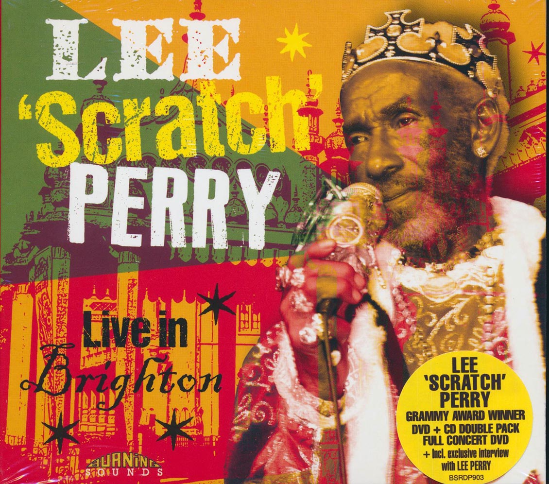 LEE PERRY - Live In Brighton - CD + DVD
