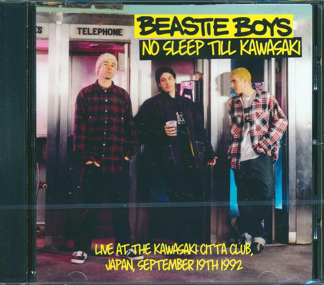 BEASTIE BOYS - No Sleep Till Kawasaki: Live At The Kawasaki Citta Club, Japan, September 19th 1992 - CD