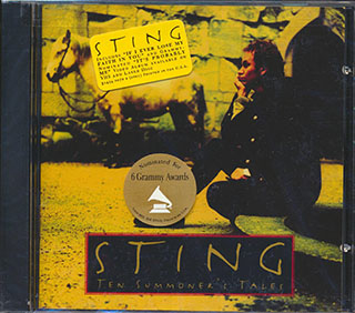 Sealed New Cd Sting Ten Summoner S Tales 731454007023 Ebay